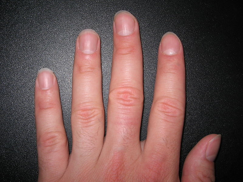 My nails in All the