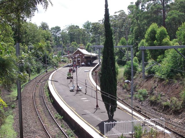 Beecroft station, Beecroft NSW (Wikipedia)