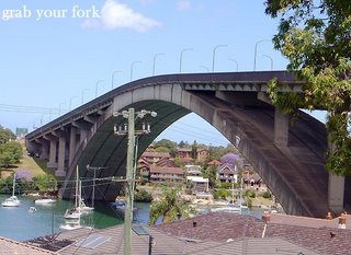 Gladesville Bridge, Gladesville NSW (Grab Your Fork - http://grabyourfork.blogspot.com)
