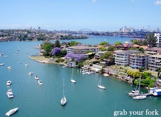Gladesville Bridge, Gladesville NSW (Grab Your Fork - grabyourfork.blogspot.com)