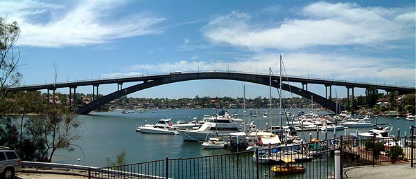 Gladesville Bridge, Gladesville NSW (GRAHAMUK/Wikipedia)