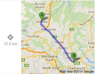 Hornsby-Roseville (Google)