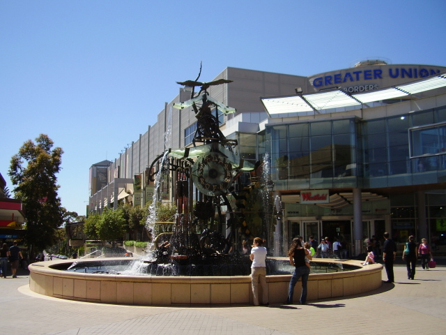Hornsby Water Clock, Florence Street Mall, Hornsby NSW (Wikipedia)