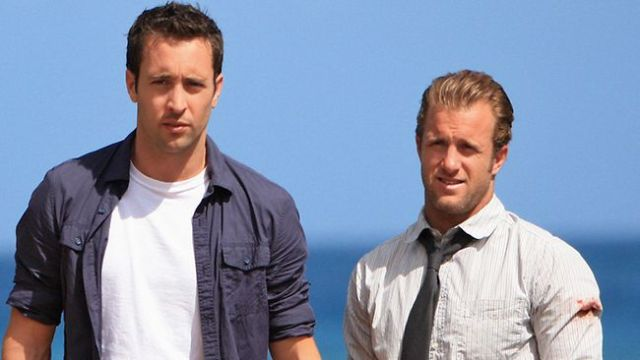 Steve McGarrett (Alex O'Loughlin) and Danny Williams (Scott Caan), 'Hawaii Five-O' (Slate)