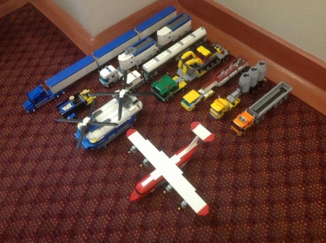 Lego creations, February 2014
