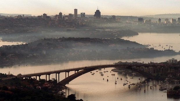 Gladesville Bridge, Sydney NSW (The Sydney Morning Herald; photo by Quentin Jones)