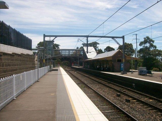 Berowra railway station, Berowra NSW (Abesty/Wikipedia)