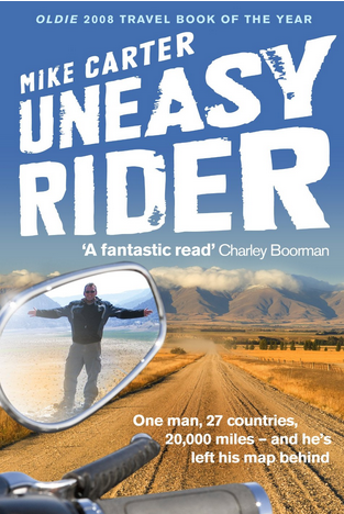 'Uneasy Rider' by Mike Carter (Amazon)