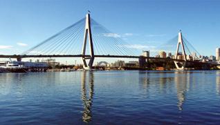 Anzac Bridge (http://www.7bridgeswalk.com.au/)
