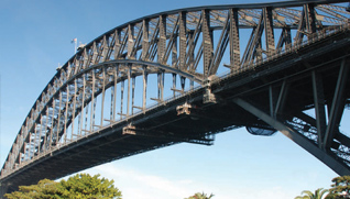 The Sydney Harbour Bridge (http://www.7bridgeswalk.com.au/)