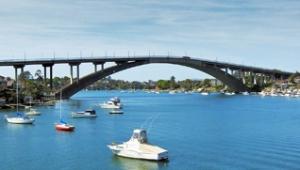 Gladesville Bridge (http://www.7bridgeswalk.com.au/)